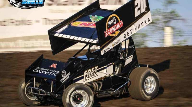 Jordan Adams, NOSA Sprints, River Cities Speedway