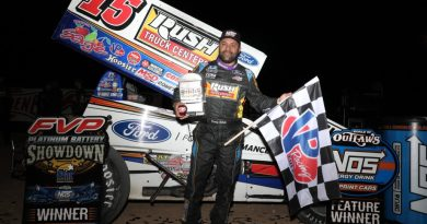 Donny Schatz, Las Vegas, Dirt Track, World of outlaws, sprint cars