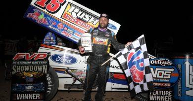 Donny Schatz, Las Vegas, Dirt Track, World of outlaws, sprint cars
