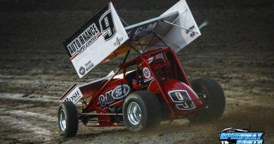 Wade Nygaard, Nebraska 360 Sprints, I-80 Speedway