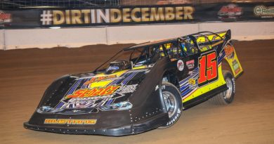 Donny Schatz, Brandon Sheppard, dirt late model, late model, gateway dirt nationals, rocket chassis