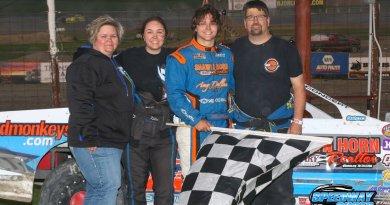 Tucker Pederson, Devils Lake Speedway