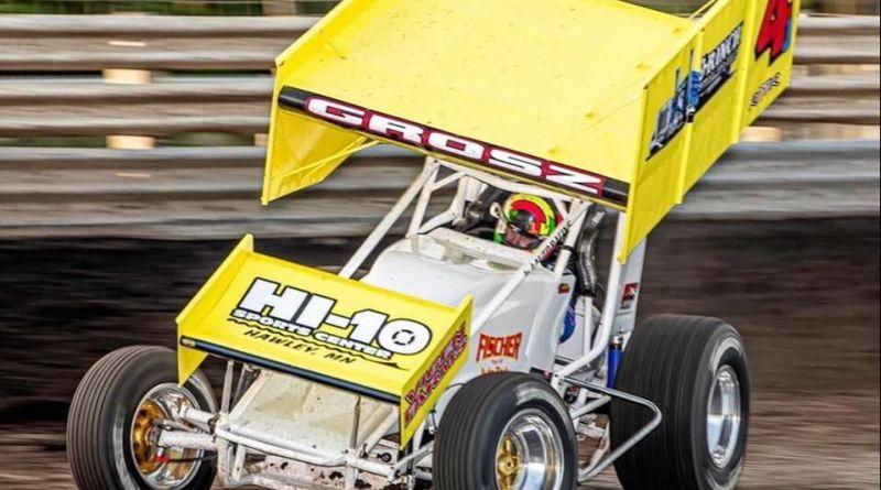 Lee Grosz, Knoxville Raceway, Jackson Motorplex
