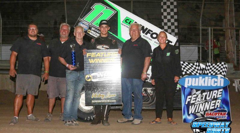 Brendan Mullen, Dacotah Speedway, NOSA Sprints
