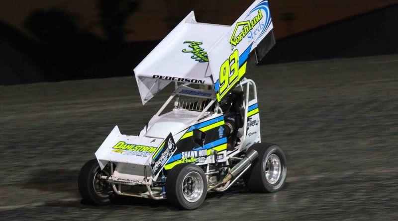 Kelsi Pederson, POWRi Minn-Kota Lightning Sprints, Red River Valley Speedway