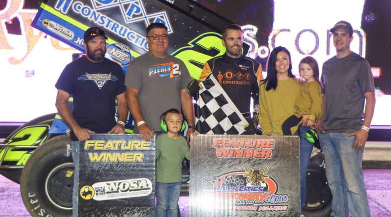 Austin Pierce, River Cities Speedway; NOSA Sprints