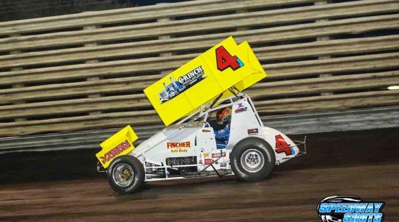 Lee Grosz, Rapid Speedway, MSTS 360 Sprints