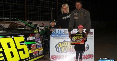 Jason Strand, Norman County Raceway, IMCA Modified