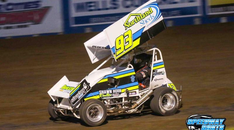 Kelsi Pederson, River Cities Speedway, POWRi Minn-Kota Lightning Sprints