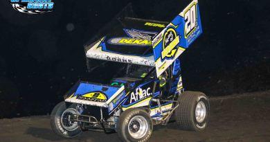 Jordan Adams, River Cities Speedway, NOSA Sprints