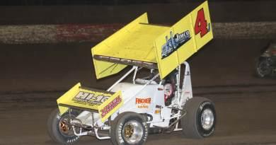 Lee Grosz, I-80 Speedway, Knoxville Raceway