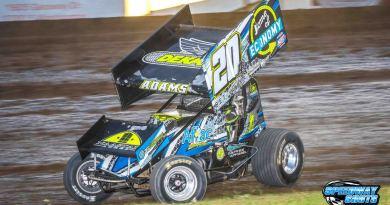 Jordan Adams, Dacotah Speedway, River Cities Speedway, NOSA Sprints