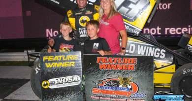Mark Dobmeier, NOSA Sprints, River Cities Speedway