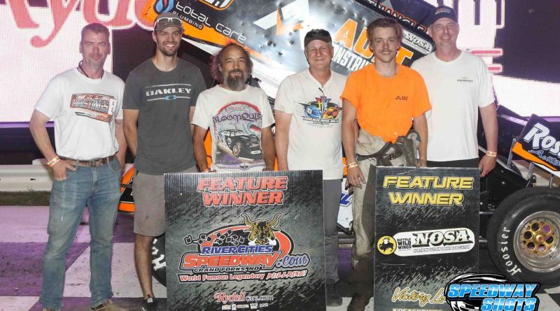 Jade Hastings, River Cities Speedway, NOSA Sprints