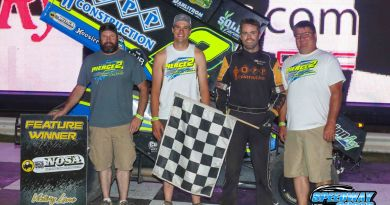 Austin Pierce, River Cities Speedway, NOSA Sprints