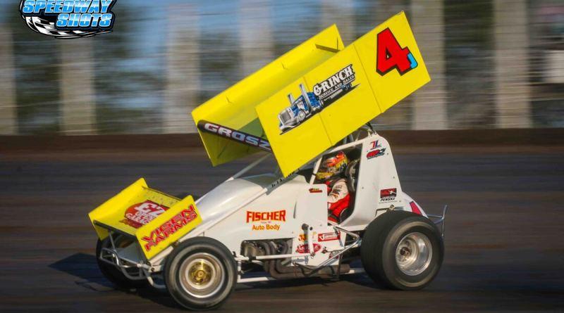 Lee Grosz, NOSA Sprints, River Cities Speedway