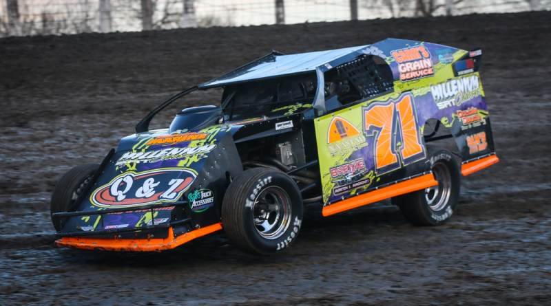 Dustin Strand, River Cities Speedway, NLRA Late Models, Advantage RV Mod Tour