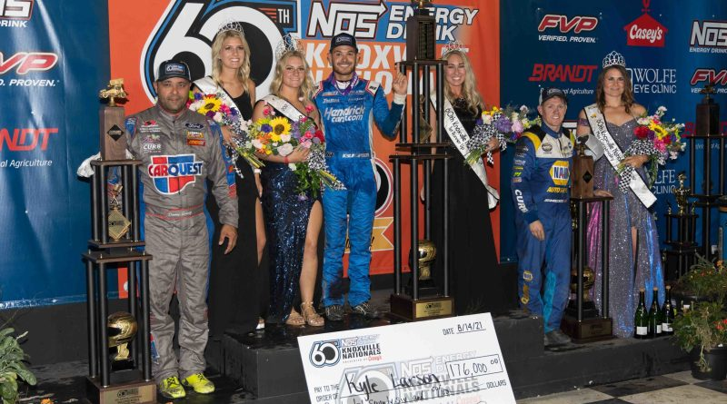 Donny Schatz, Knoxville Raceway, Knoxville Nationals, World of Outlaws Sprint Cars