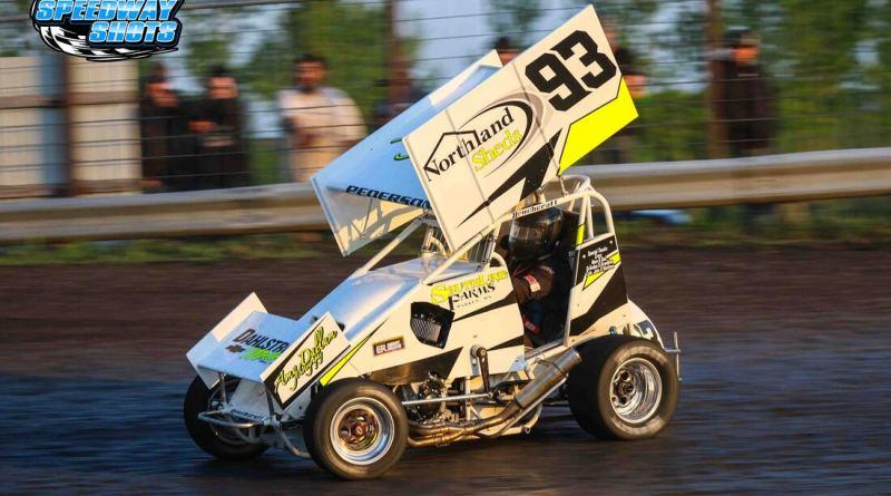 Kelsi Pederson, Buffalo River Speedway, Minn Kota Lightning Sprints