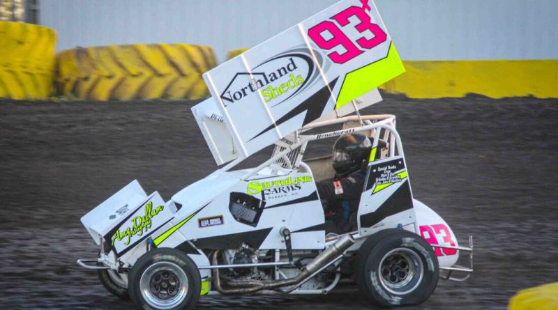 Kelsi Pederson, Minn Kota Lightning Sprints, Buffalo River Speedway