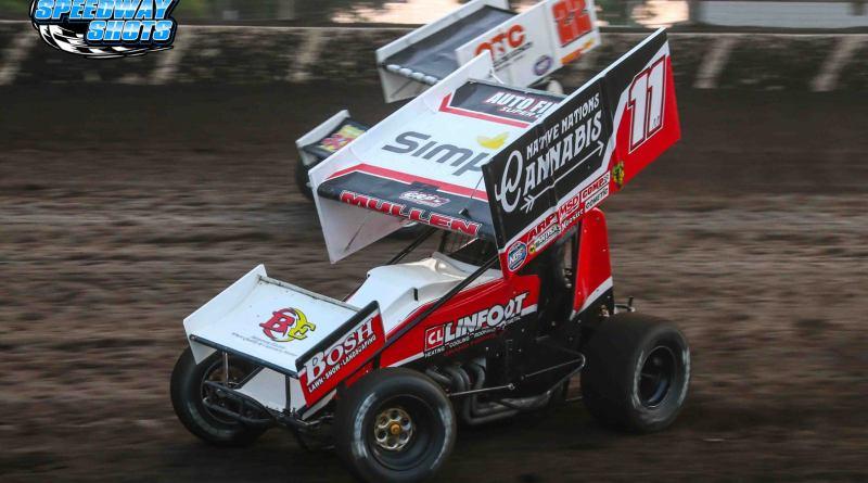 Brendan Mullen, NOSA Sprints, Huset's Speedway