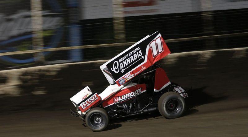 Brendan Mullen, Huset's Speedway, MSTS 360 Sprints