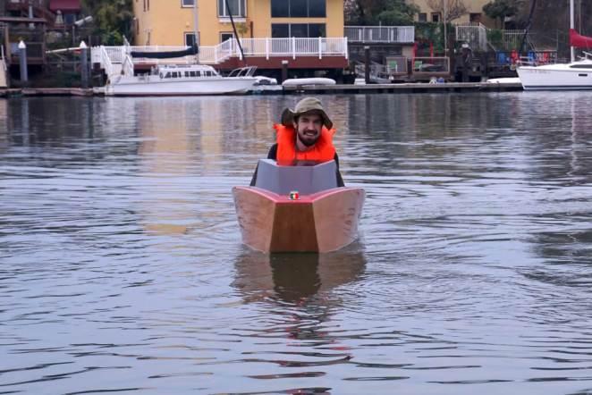 mini electric boat