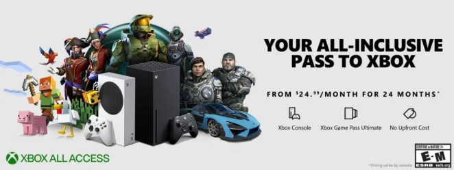 Xbox All Access Update Inline Image