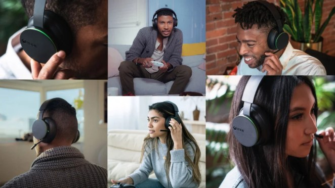 Xbox Wireless Headset Lifestyle