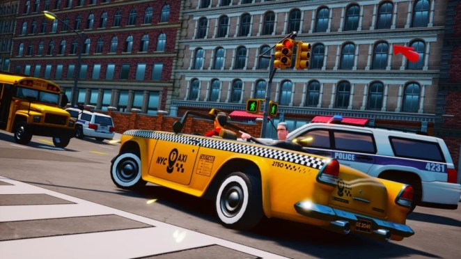 Taxi Chaos – February 23