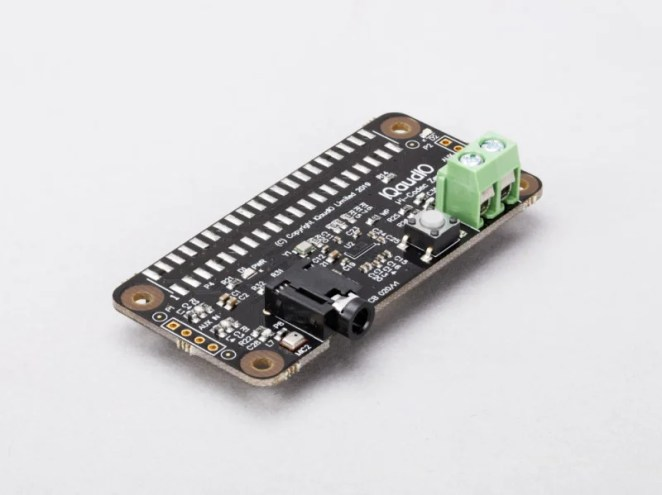 IQaudio Codec Zero. Codec Zero is a $20 audio I/O HAT, designed to fit within the Raspberry Pi Zero footprint. It is built around a Dialog Semiconductor DA7212 codec and supports a range of input and output devices, from the built-in MEMS microphone to external mono electret microphones and 1.2W, 8 ohm mono speakers