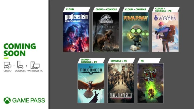 Xbox Game Pass - February Wave I