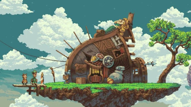 Owlboy: a game that favoured quality over time. It took about nine years to make, but looked spectacular