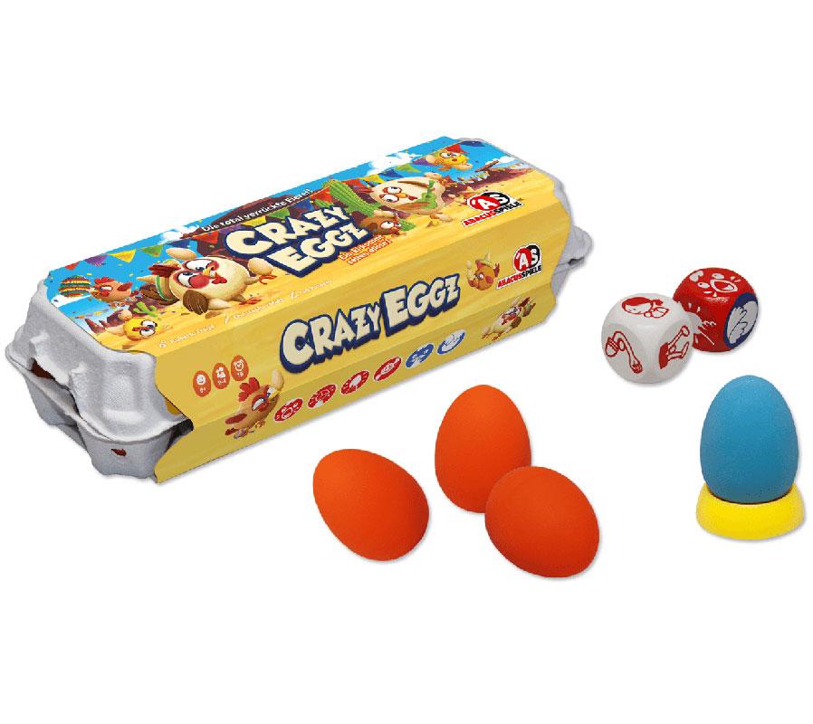 Schachtelinhalt von Crazy Eggz