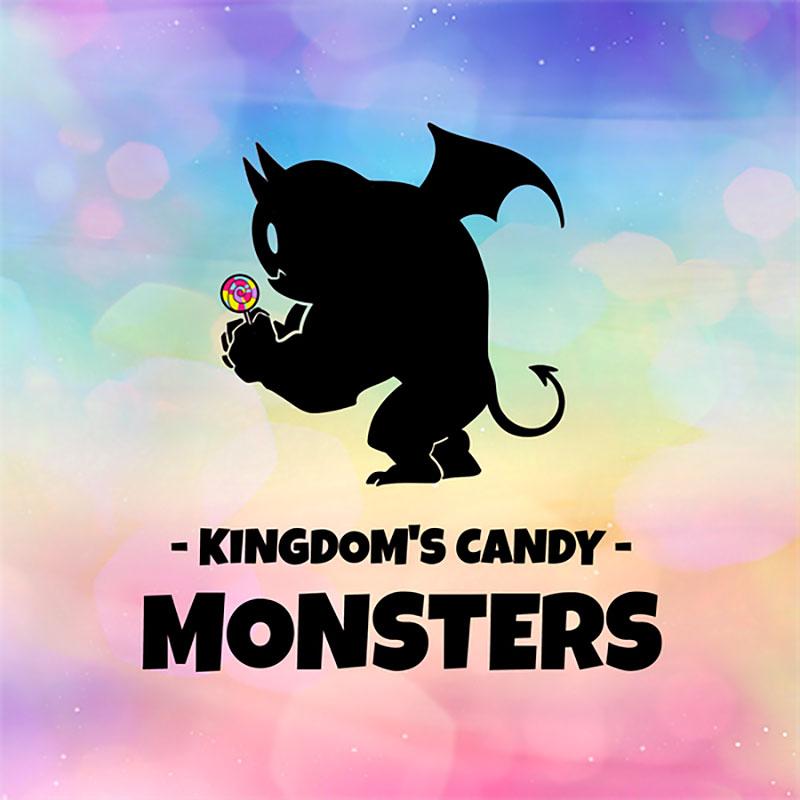 Kingdoms Candy Monsters Schachtelvorderseite