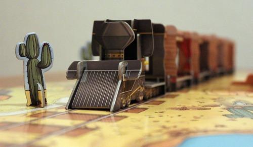 Brettspiel Colt Express Lock