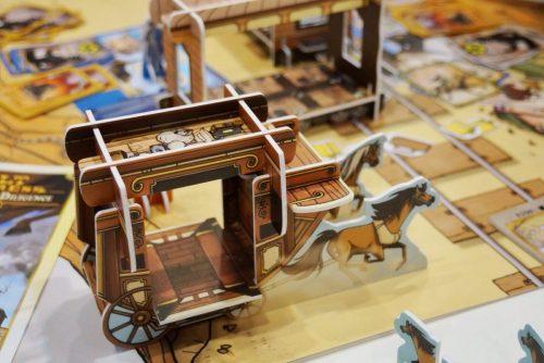Brettspiel Colt Express Postkutsche