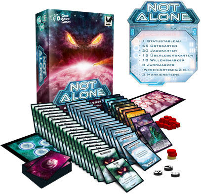 Brettspiel Not Alone