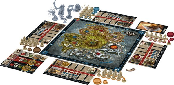 Spielmaterial Blood Rage