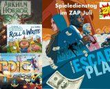 Spieledienstag im ZAP - Juli