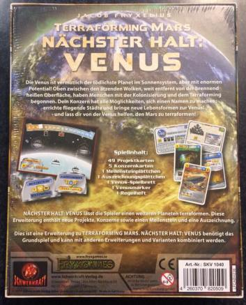 Nächster Halt Venus back