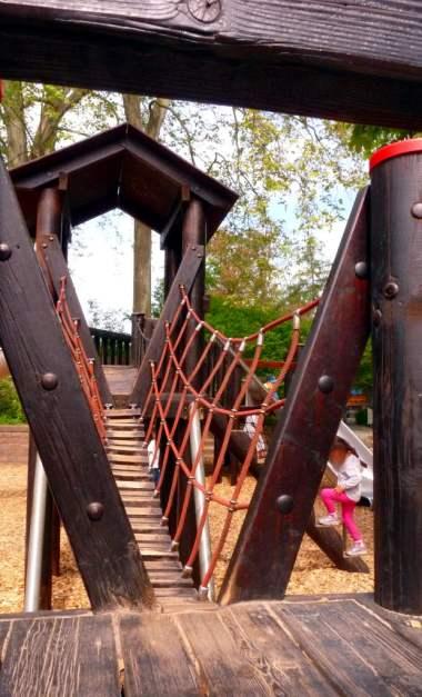 Hängebrücke für kleine Füße