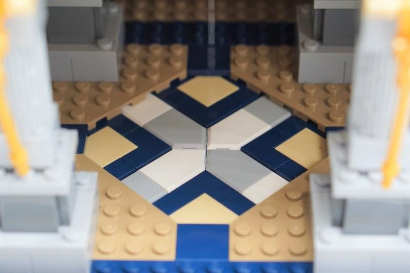 Lego Schloss Detailbild 3
