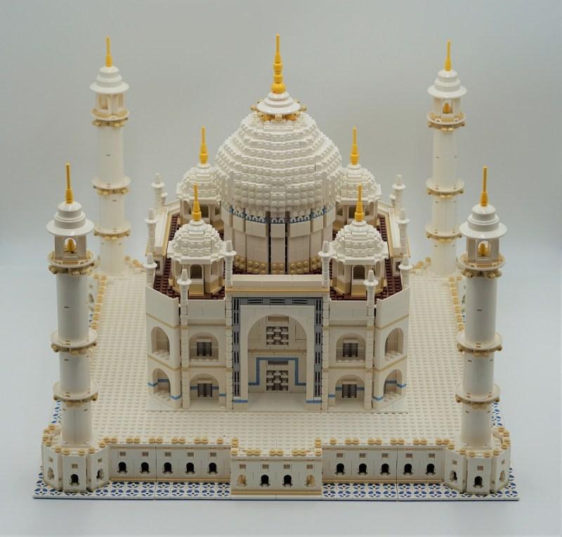 Taj Mahal aufgebautes Set