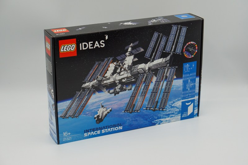 ISS Verpackung Front
