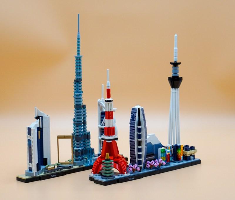 Dubai Tokio Schräg