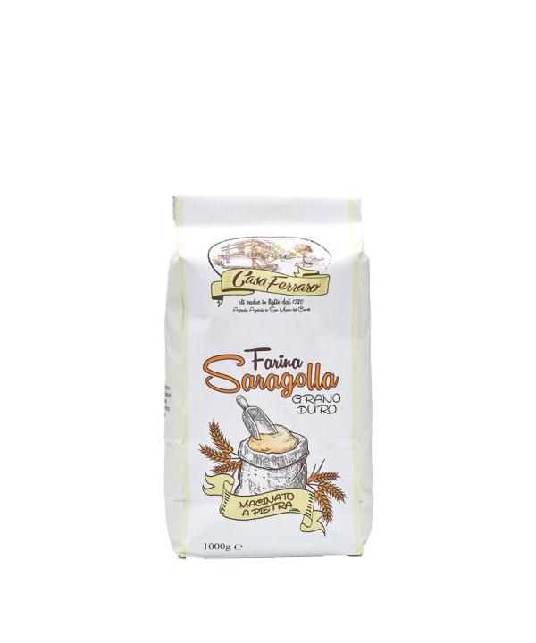 farina di grano saragolla biologico