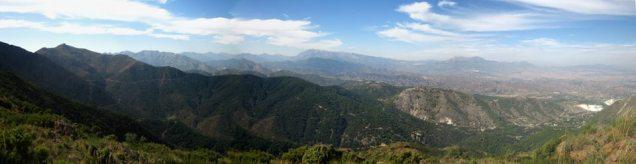 North, Torrecilla in the distance.