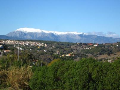 Snow on La Torrecilla (?)