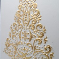 Easy Peasy Christmas Cards #21 ~ OHHH ...... Christmas Tree!